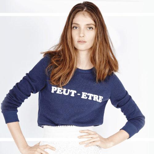 Les Petites Blue Sweatshirt