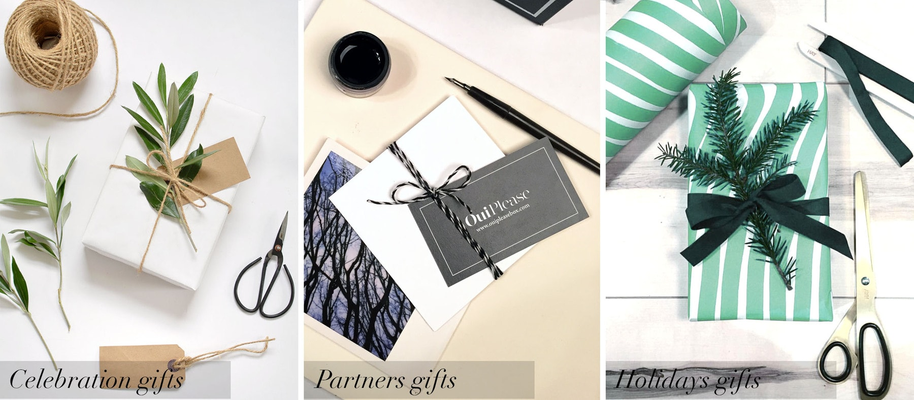 OuiPlease Privee celebration gifts holiday gifts corporate gifts