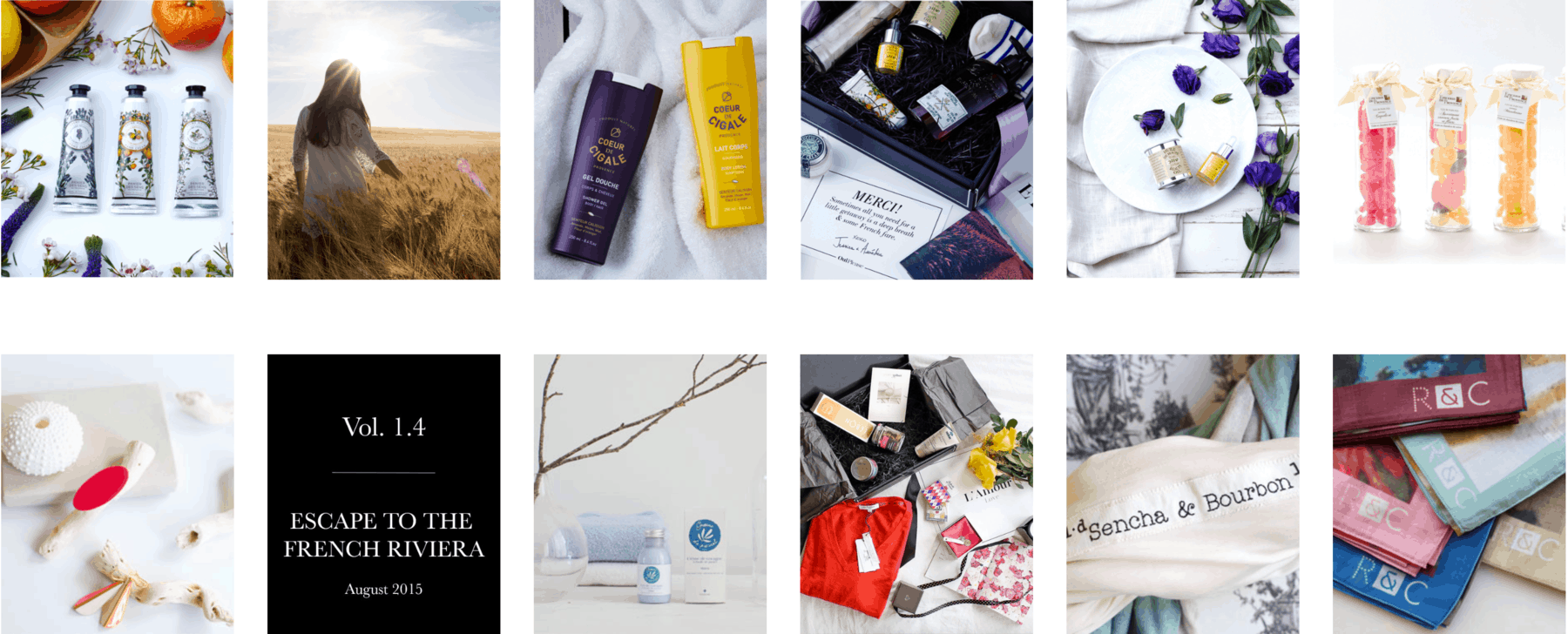 OuiPlease French Riviera Luxury Subscription Box for Women