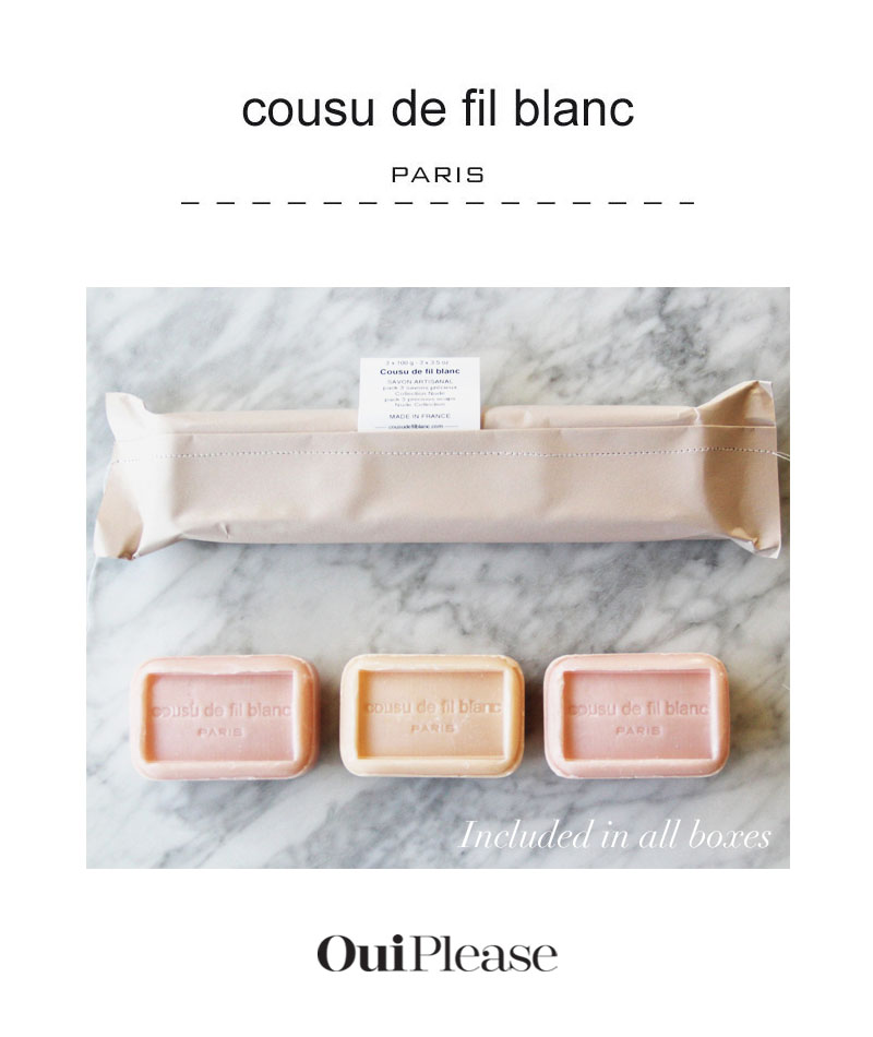 OuiPlease French Brand Cousu de fil blanc Made in France