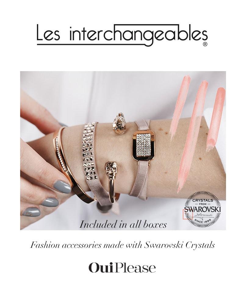 French Brand Les Interchangeables Swarovski Crystals Bracelets OuiPlease Spoiler Alert