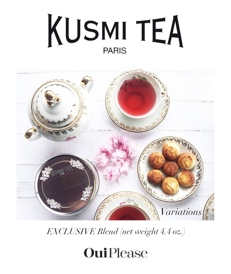 OuiPlease Spoiler Alert Vol 2.2 Kusmi Tea Paris exclusive blend