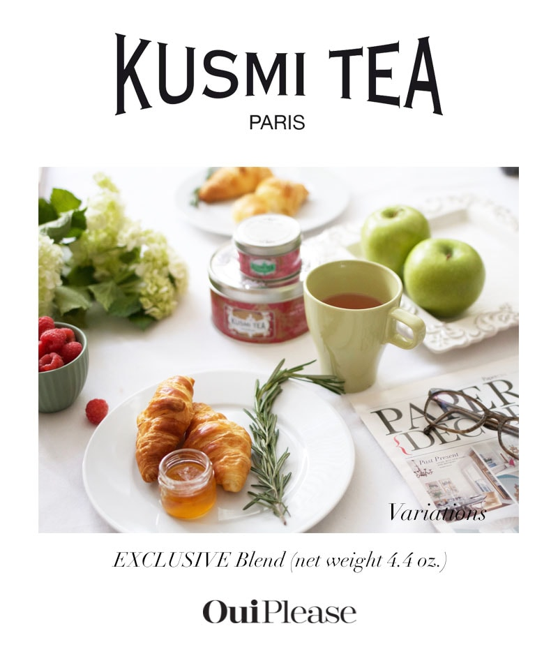 OuiPlease Spoiler Alert Kusmi Tea Paris exclusive blend