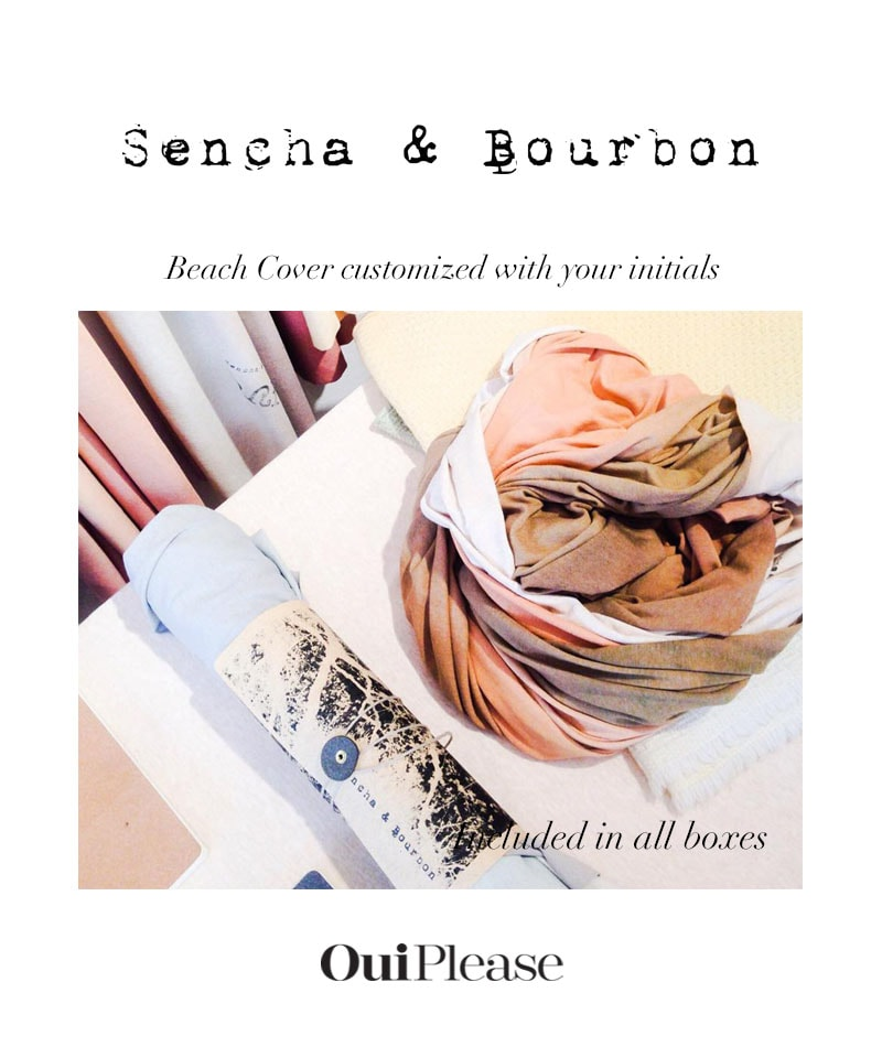 OuiPlease French Brand sencha & bourbon customized beach covers