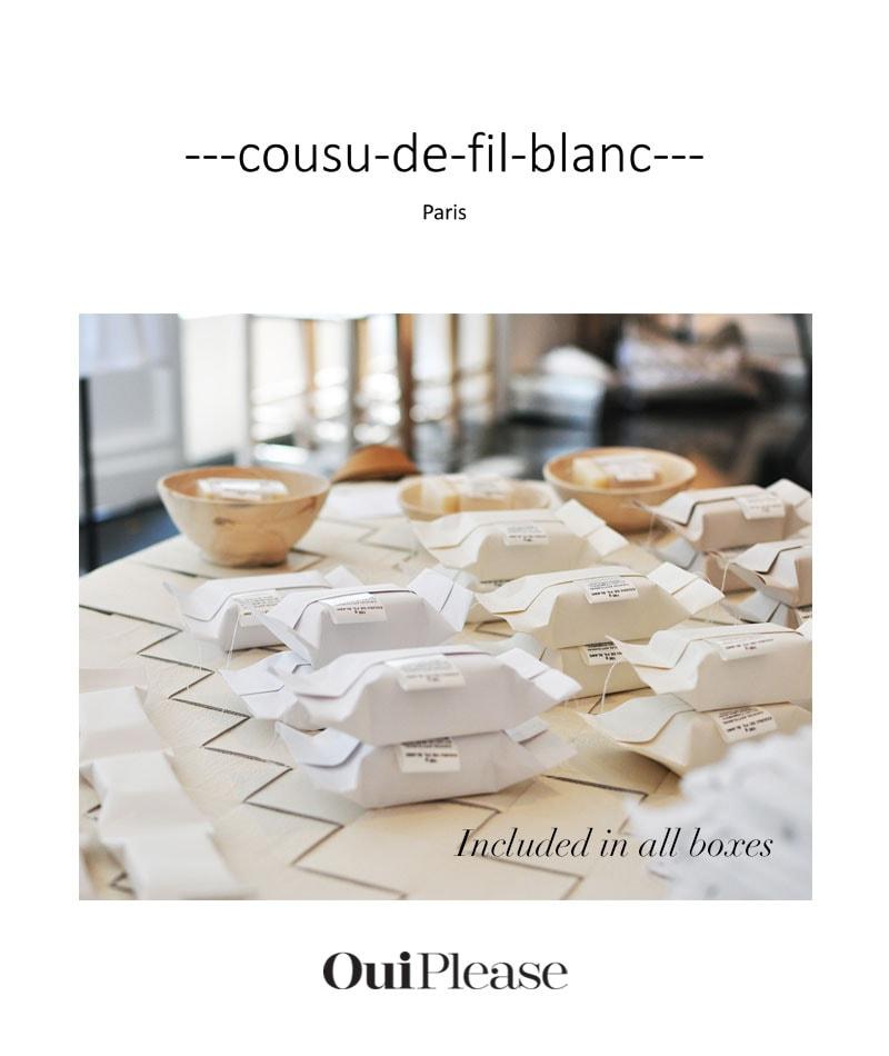 OuiPlease Spoiler Alert French Brand Cousu de fil blanc paris