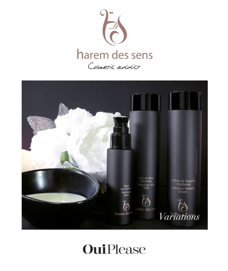 OuiPlease Subscription Box Harem Des Sens shower cream