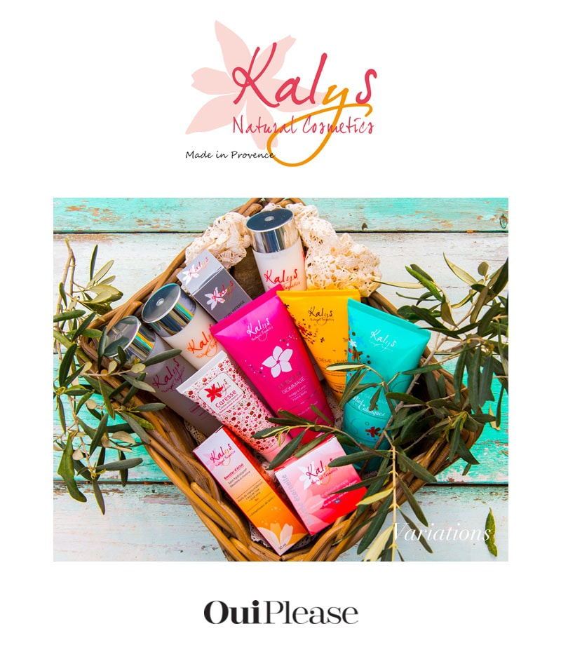 OuiPlease French brand Kalys Natural Cosmetics Made in Provence
