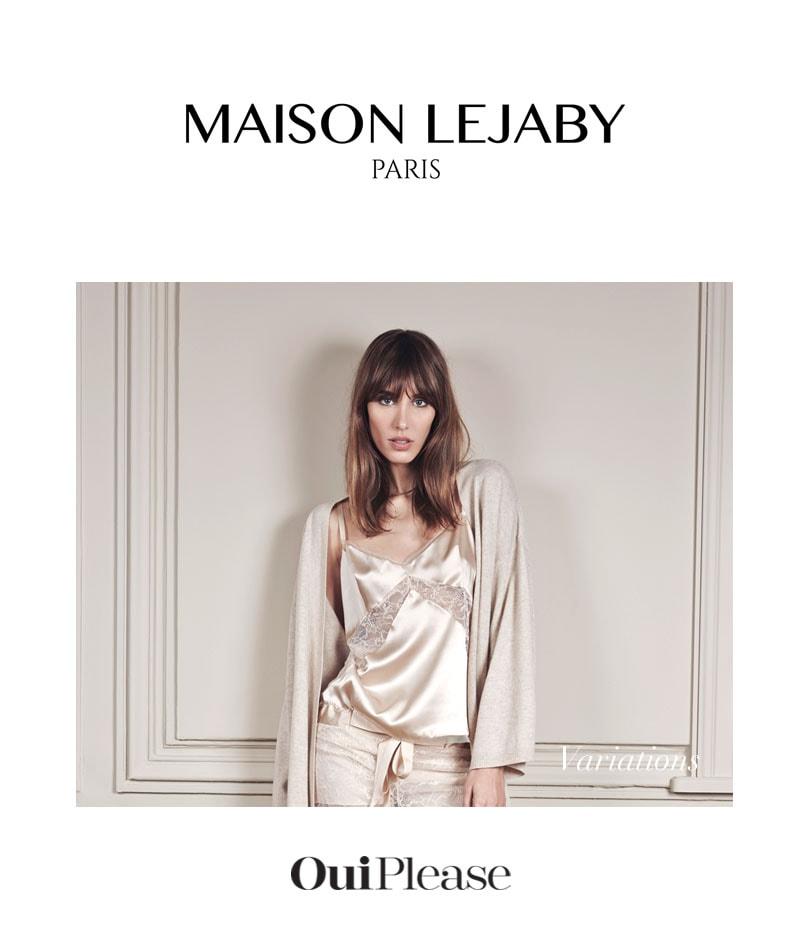OuiPlease Box Spoiler Alert Maison Lejaby Paris nude lingerie