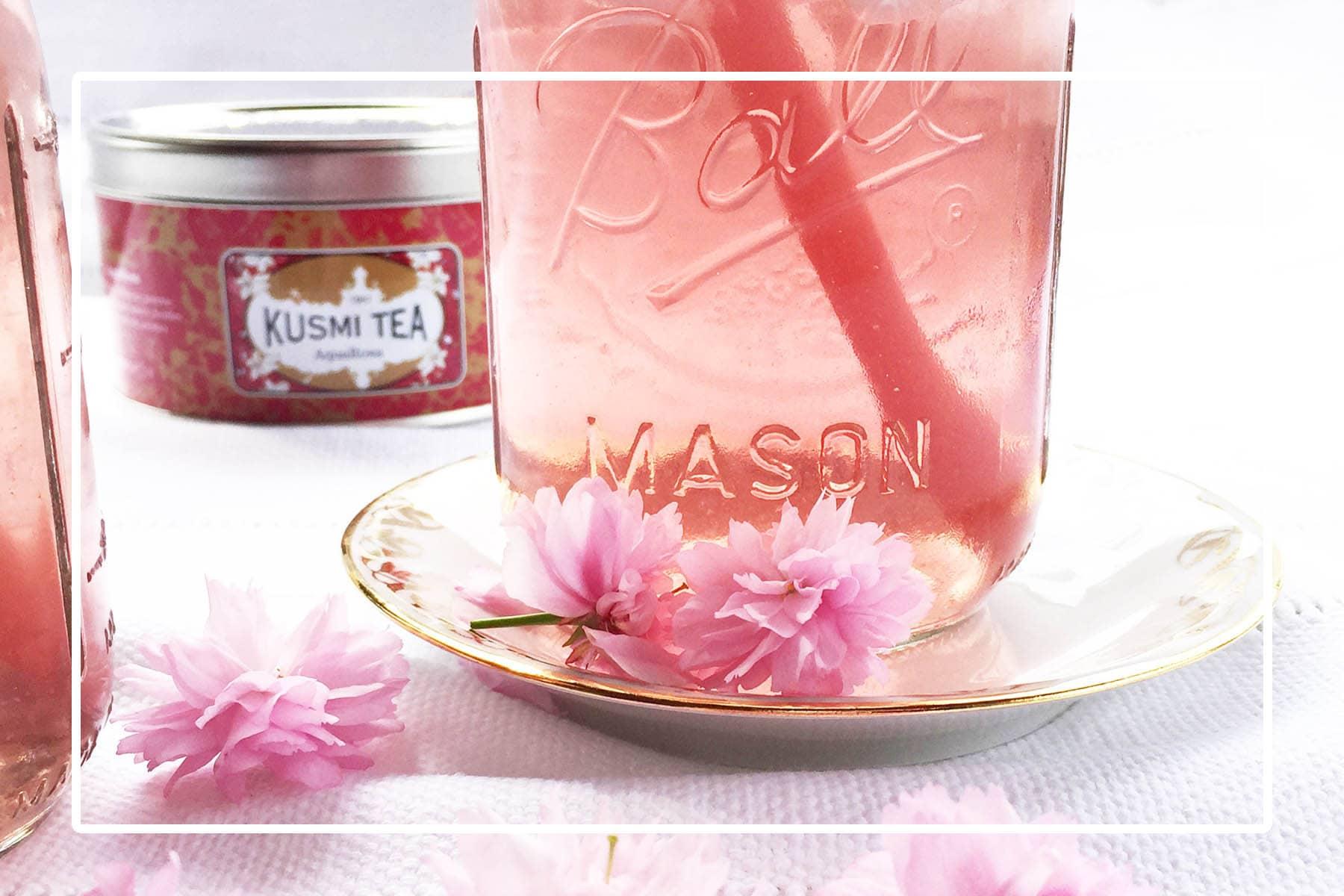 OuiPlease OuiBlog Kusmi Tea French Summer Drink AquaRose