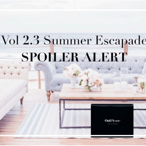 OuiPlease OuiBlog French Summer Escapade Subscription Box Vol 2.3