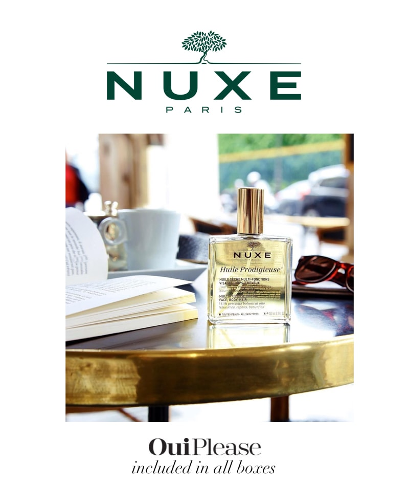 Nuxe Paris Huile Prodigieuse Dry Oil For Women OuiPlease Box