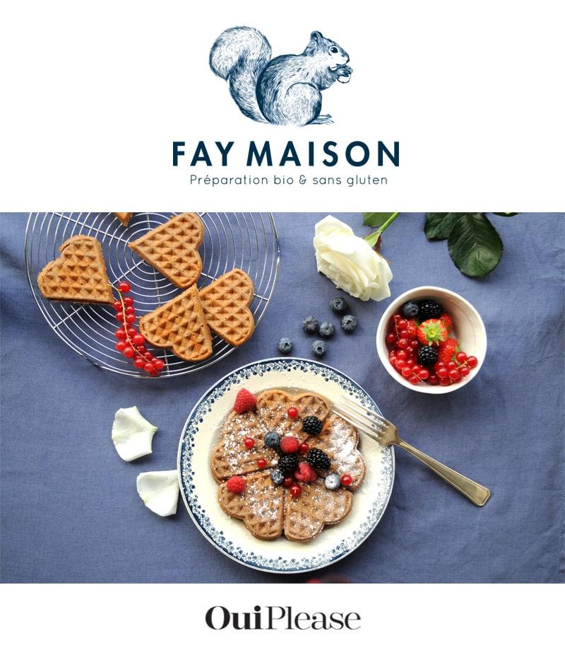 OuiPlease Box Summer Escapade Fay Maison Gluten Free Waffle Mix