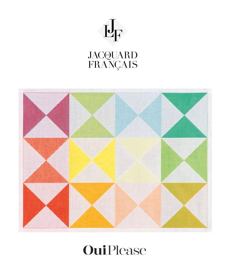 OuiPlease Box Summer Escapade Big Reveal Le Jacquard Francais Textiles
