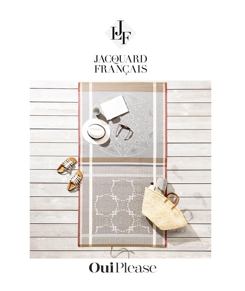 OuiPlease Spoiler Alert Le Jacquard Francais Linen Fabrics