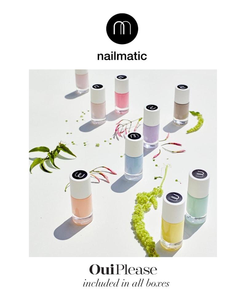 OuiPlease Spoiler Alert Nailmatic Gel Nail polish pastel colors