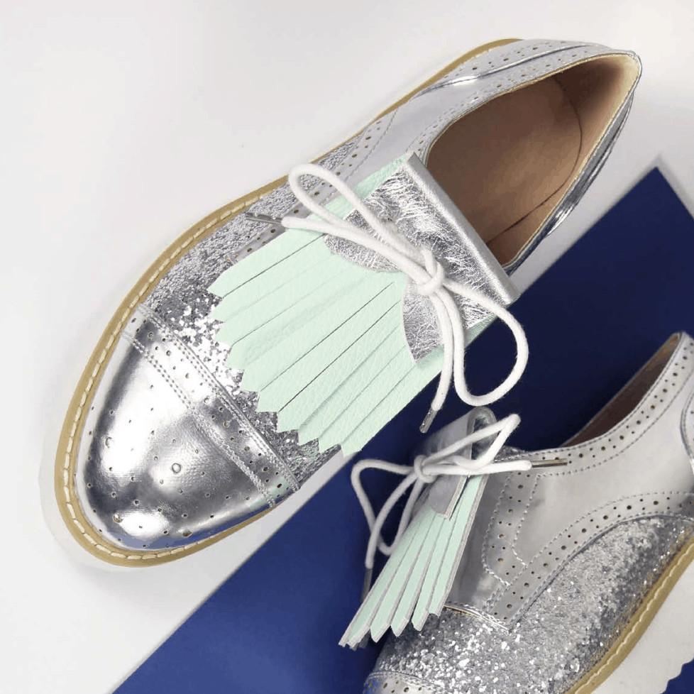 Aurelie Chadaine Franginettes Metallic Shoes OuiPlease OuiBlog