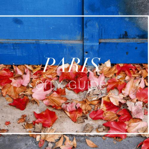 Paris City Travel Guide OuiPlease OuiBlog