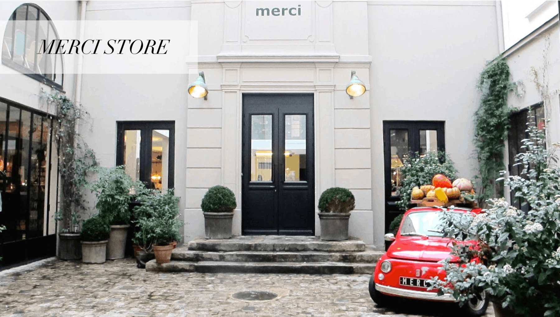 Merci Store Paris OuiPlease French Luxury Subscription Box