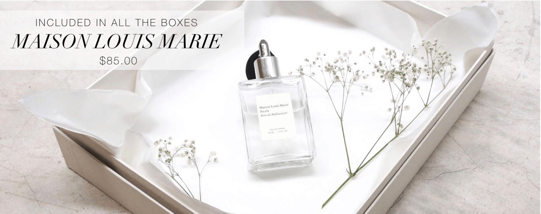 Paris Je t'aime OuiPlease Limited Edition Box Maison Louis Marie