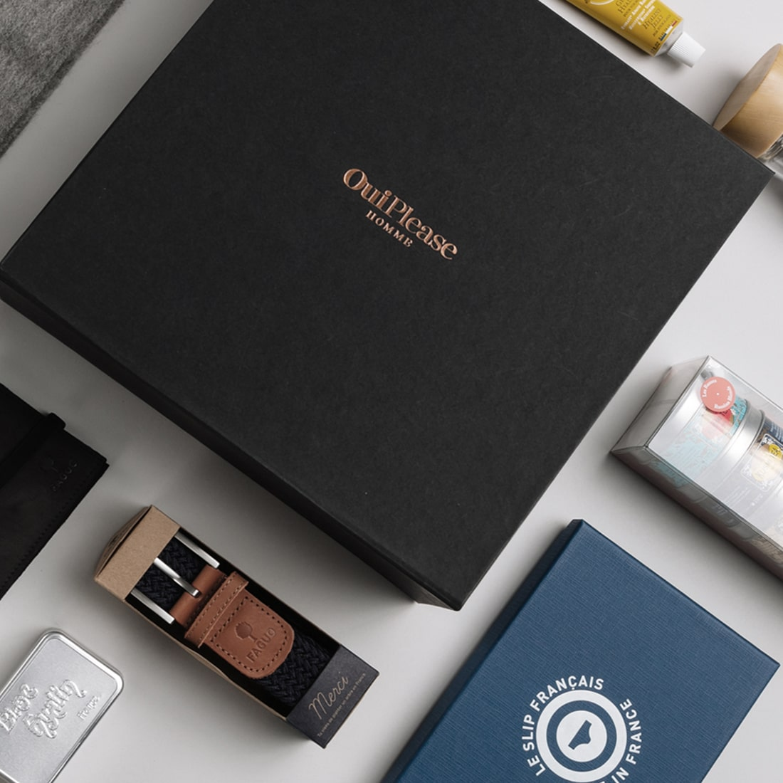 OuiPlease Homme - Men's Annual Subscription Box