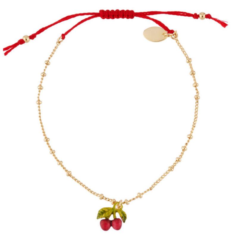 Les Nereides Gold Charm Cherry Bracelet OuiPlease OuiShop