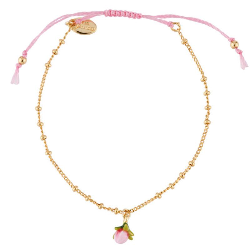 Les Nereides Gold Flower Charm Bracelet OuiPlease OuiShop