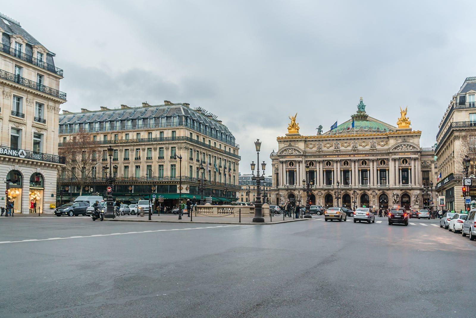 OuiPlease OuiBlog Palais Garnier, Place de l'Opéra Paris France