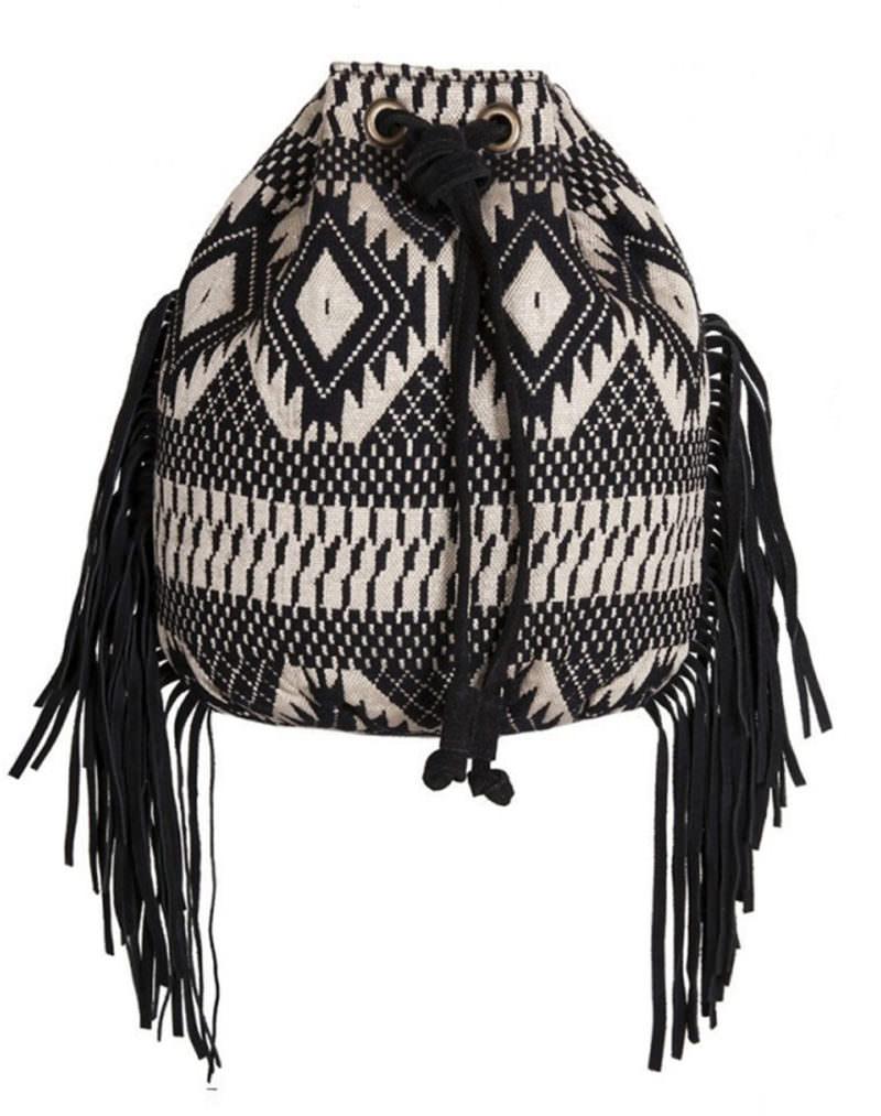 Little Marcel Noir Bucket Bag