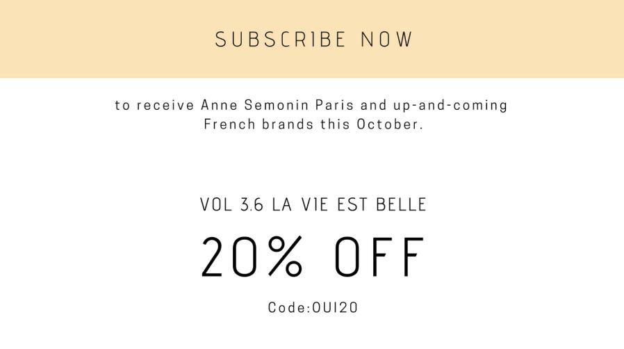 OuiPlease Anne Semonin Coupon Code