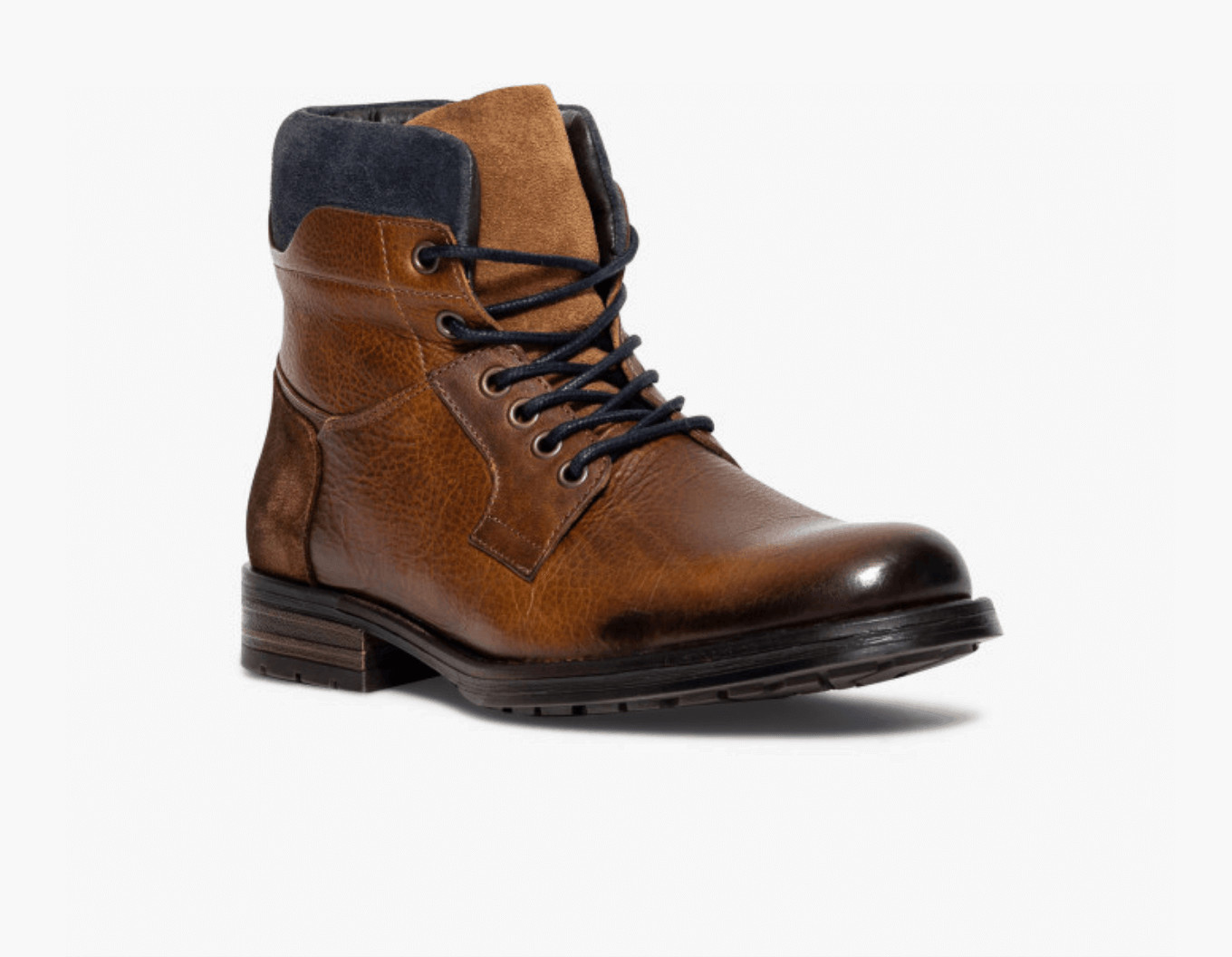 BOOTS RIAD Brown Leather Boots OuiPlease Homme