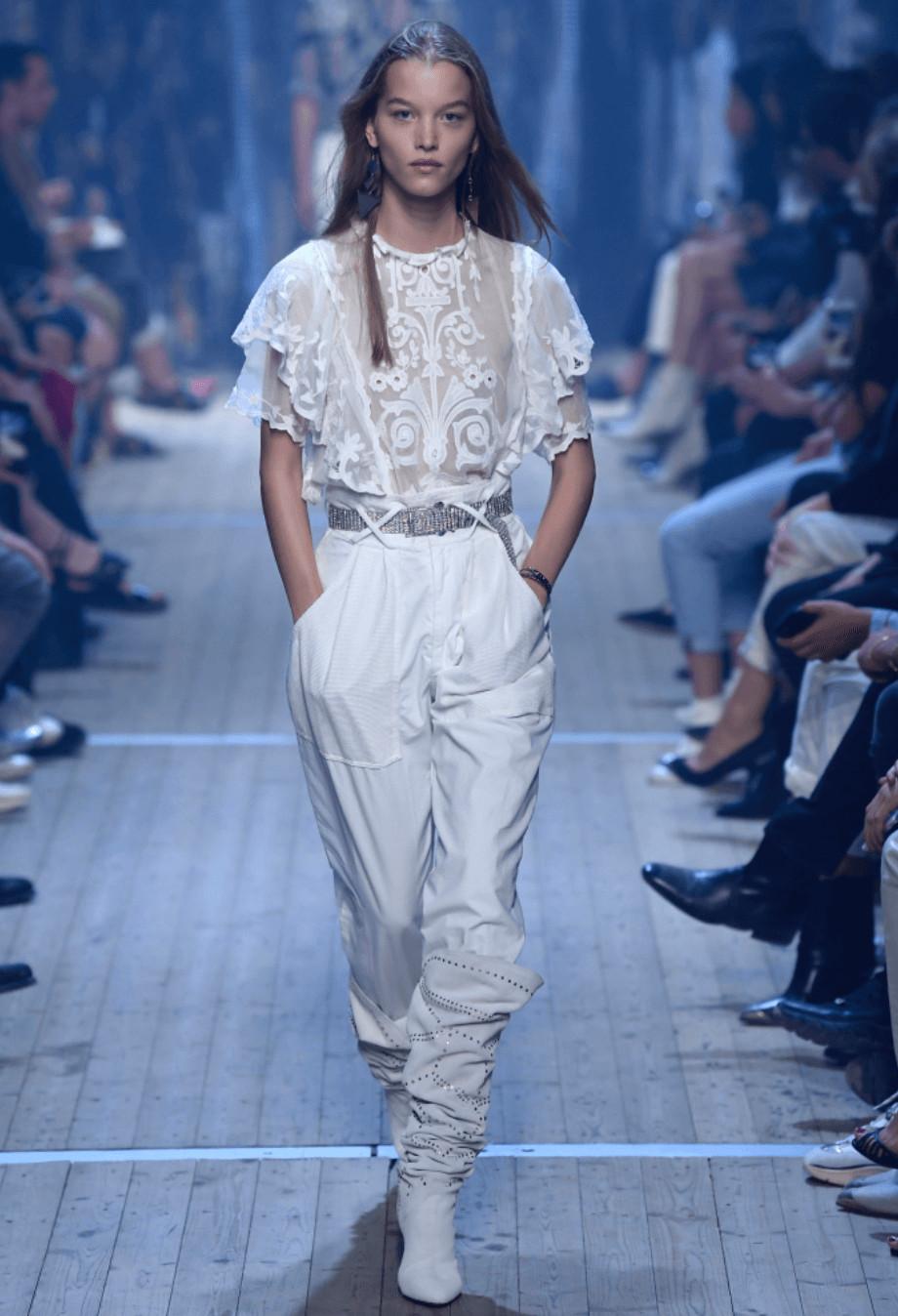 Isabel Marant Paris Fashion Week SS19