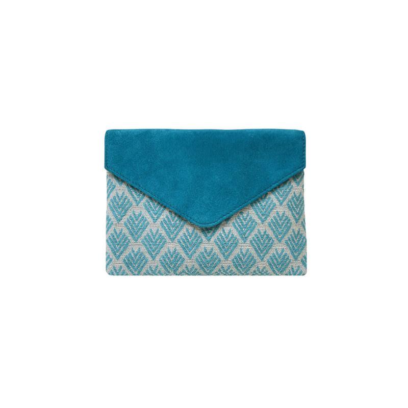 Maradji Noa Peacock Leather Card Case OuiPlease OuiShop