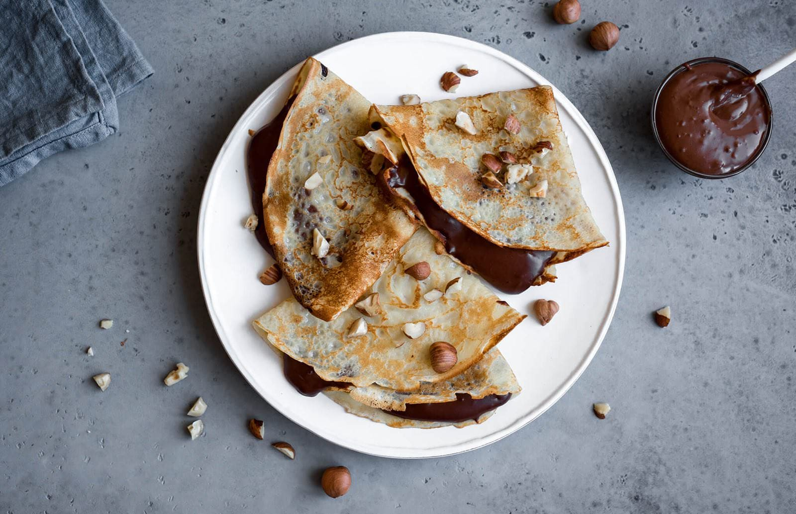 OuiPlease OuiCook French Chocolate Crepe Recipe