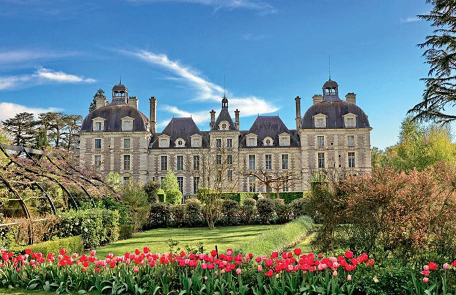 Cour Cheverny Loire Valley France OuiPlease OuiBlog
