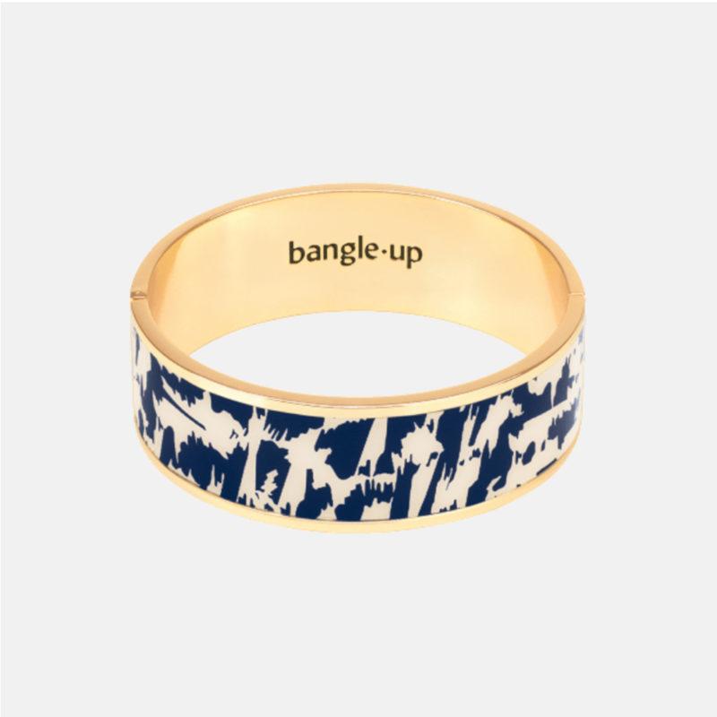 Bangle Up Joy Blue Night Gold Bracelet OuiPlease OuiShop
