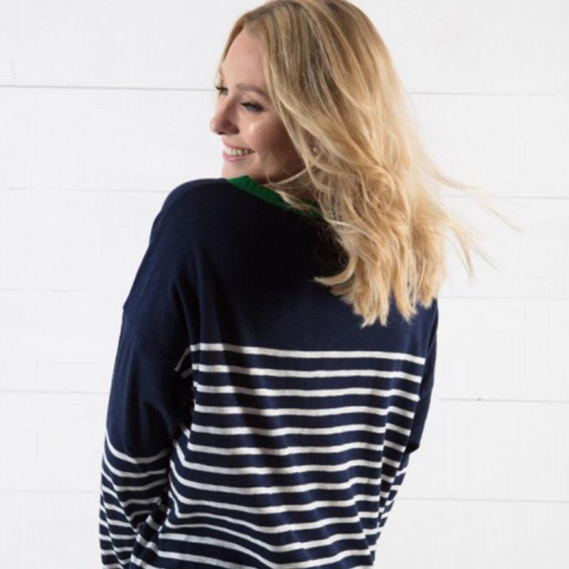 Little Marcel Tribeca Women's Multicolored Striped Shirt