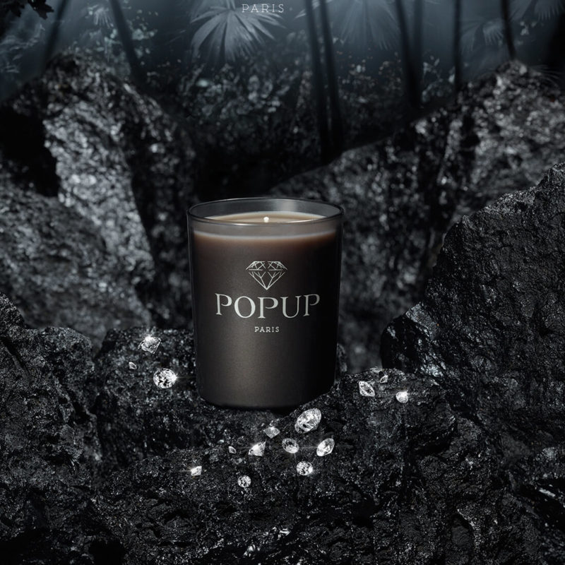 Popup Paris Forest Lump Scented Candle