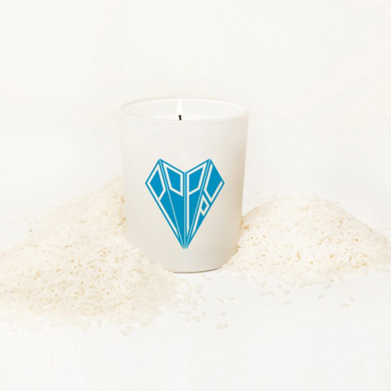 Po Up Paris Rice Pow Luxury Candle OuiPlease OuiShop