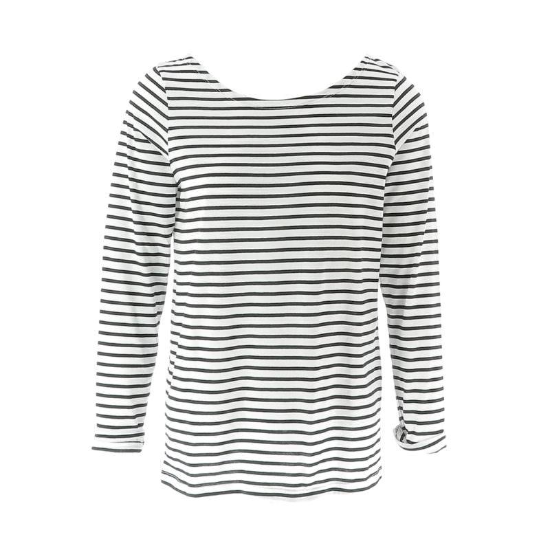 Little Marcel White Striped Shirt OuiPlease OuiShop