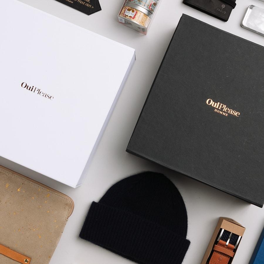 OuiPlease Box, OuiPlease Box for Men, Wool Beanie, Faguo Belt