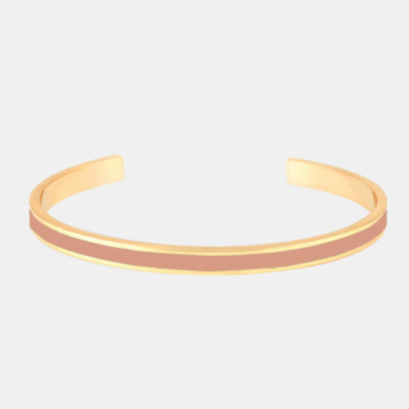 OuiPlease OuiShop Bangle Up Paris Blush Pink Gold Cuff