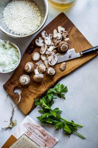 Black Truffle Mushroom Risotto Recipe OuiPlease