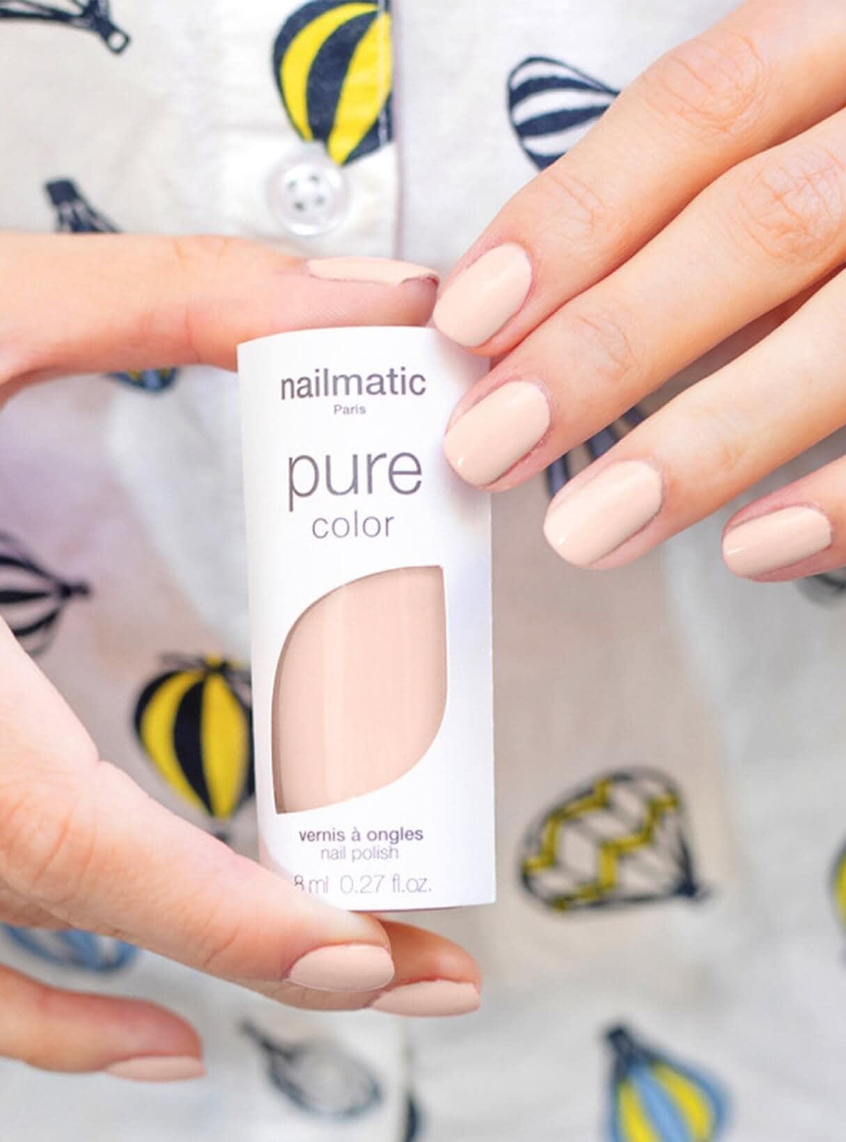 Nailmatic Vegan Nail polish OuiPlease Oui Beauty Blog