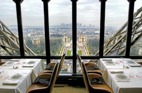 OuiPlease National Splurge Day Le Jules Verne Eiffel Tower Restaurant