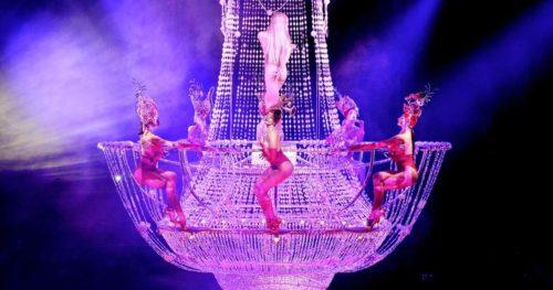 OuiPlease National Splurge Day Paris Merveilles Cabaret show Lido Paris