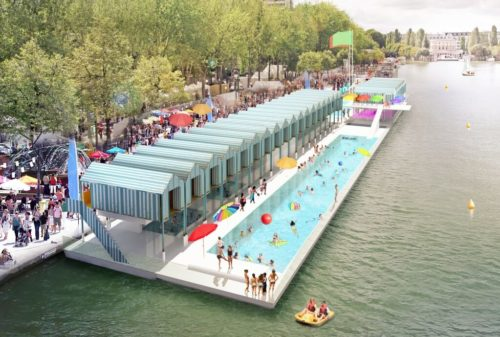 Paris Plages France Beaches OuiPlease French Style blog