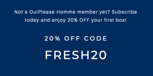 OuiPlease Homme August 20% off Code