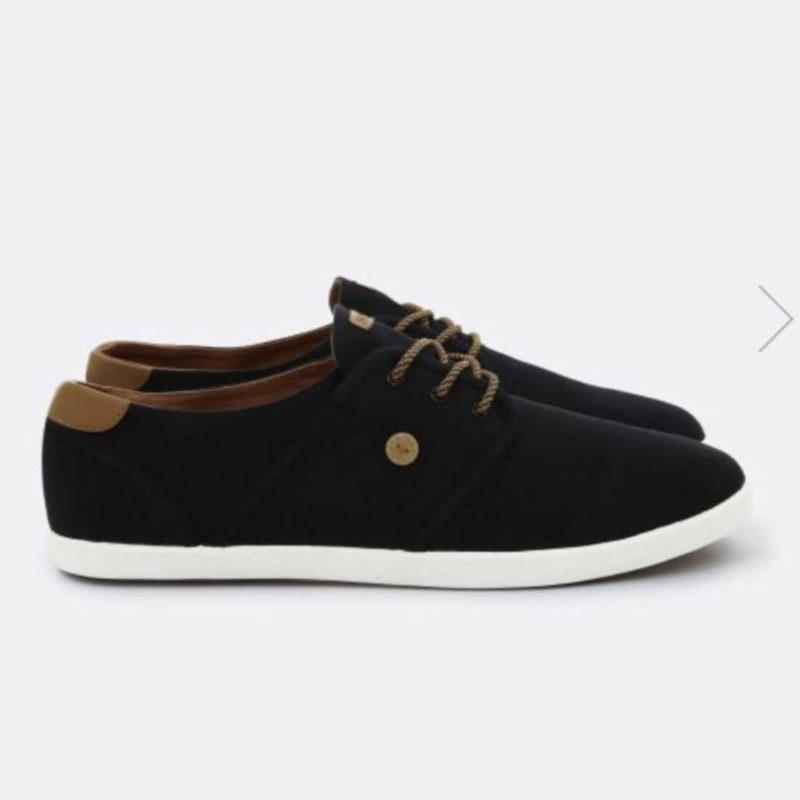 FAGUO S19CG0101 Black Cotton Men's Sneakers OuiPlease Homme Online Shop