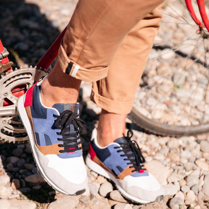 MAN WEARING FAGUO Ivy Sneakers