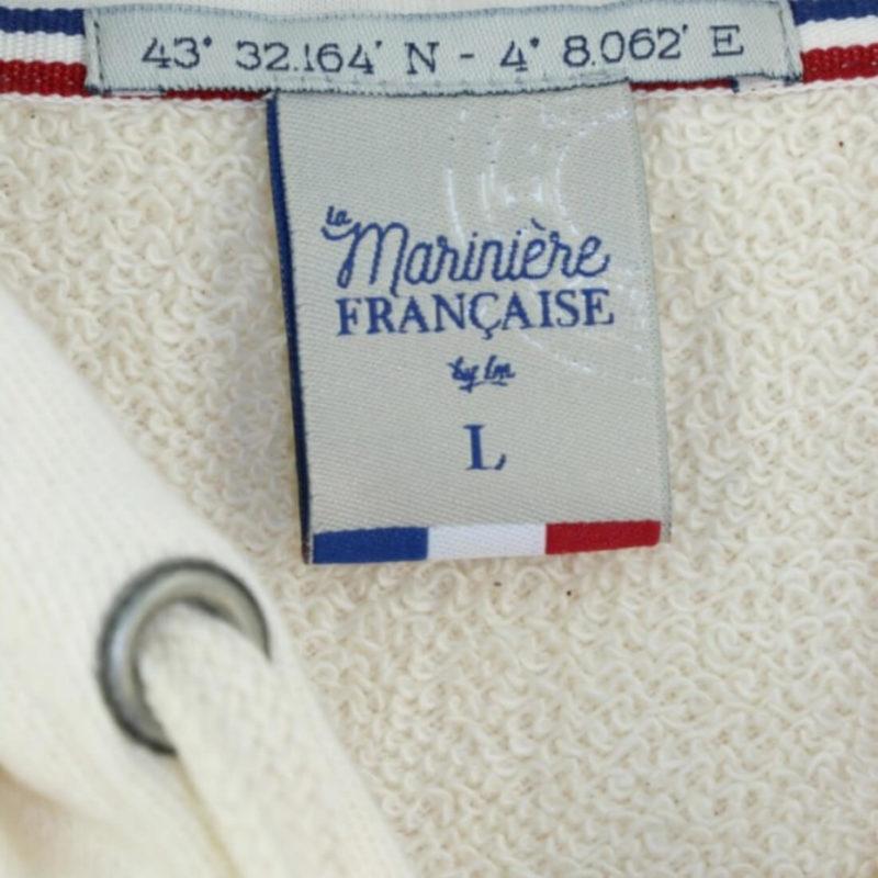 Tag La Marinière Française Leon Zip Hoodie OuiPlease Homme Men's Shop